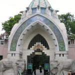 Budapest. Il giardino zoologico